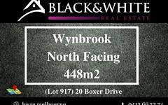 20 Boxer Drive, Wyndham Vale VIC
