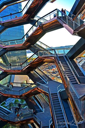 The Vessel at Hudson Yards Manhattan New York City NY P00477 DSC_2250