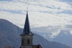 Bell tower @ Église Saint-Eugend @ Nâves-Parmelan