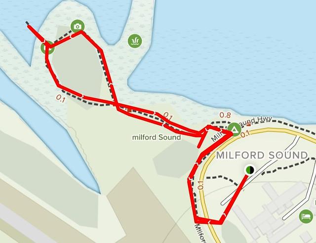 濱海步道 Milford Sound Foreshore Walk