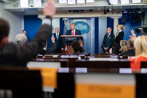 White House Press Briefing by The White House, on Flickr