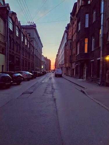 Санкт-Петербург, улица Яблочкова / Saint Petersburg, Yablochkova street ©  alexander_str