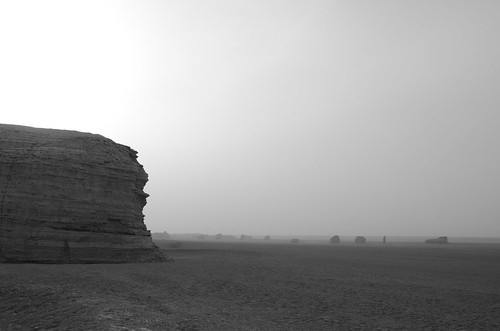 The Monolith, Gobi Desert, China