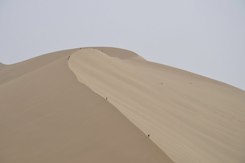 The Singing Sands, Dunhuang, China