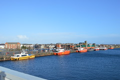 Photo of Offshore Windfarm Supply Vessels - Town Quay, Buccleuch Dock, Barrow-in-Furness