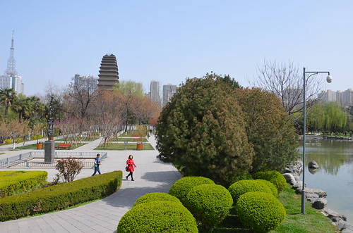 Xi'an in the spring, China