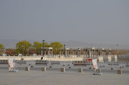 Barriers, Dunhuang, China