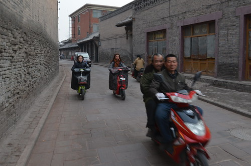 Drive-by, Pingyao, China