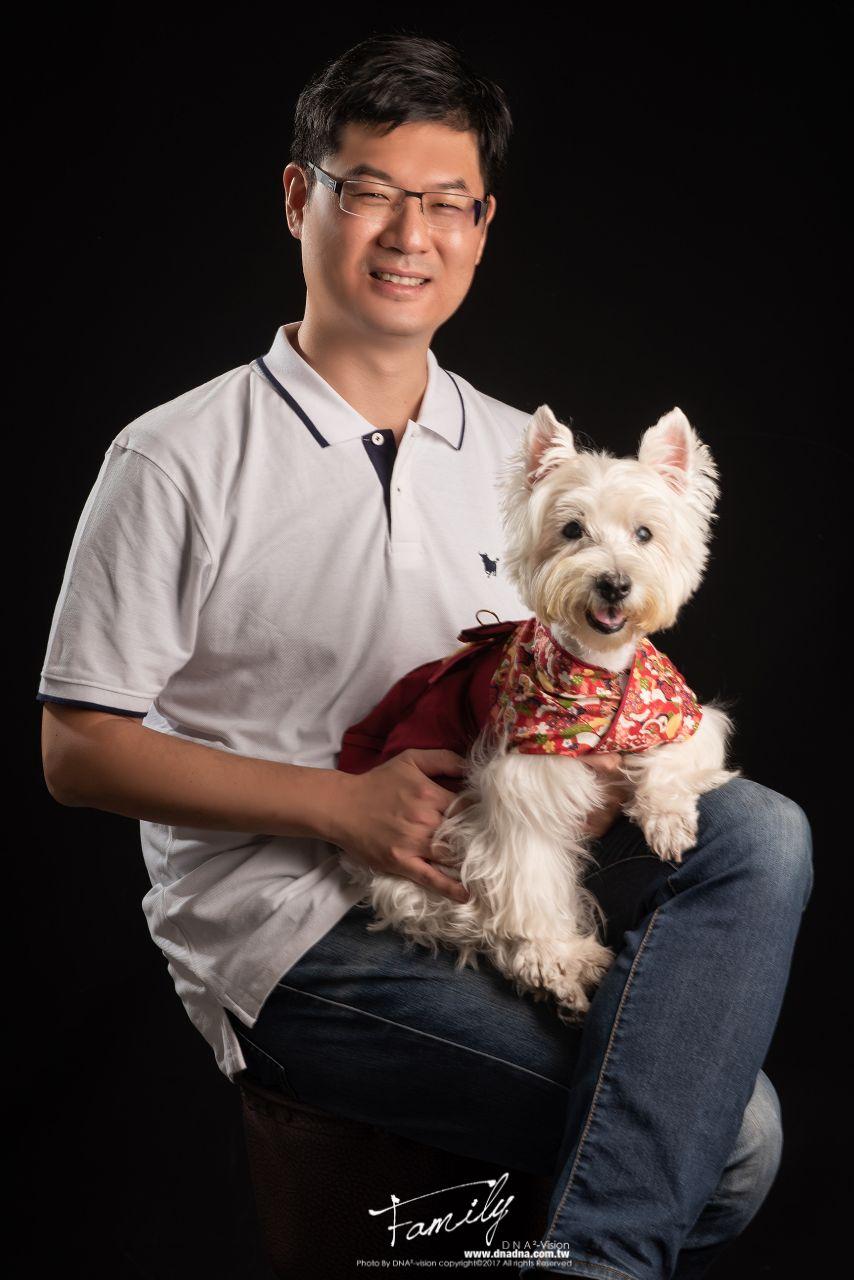 《寵物全家福寫真》lee&renne+wang
