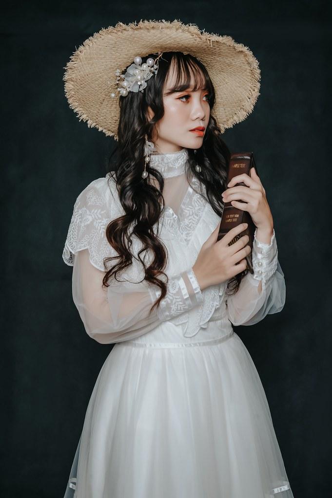 【新秘Catlin】新娘造型創作 /  田園少女風