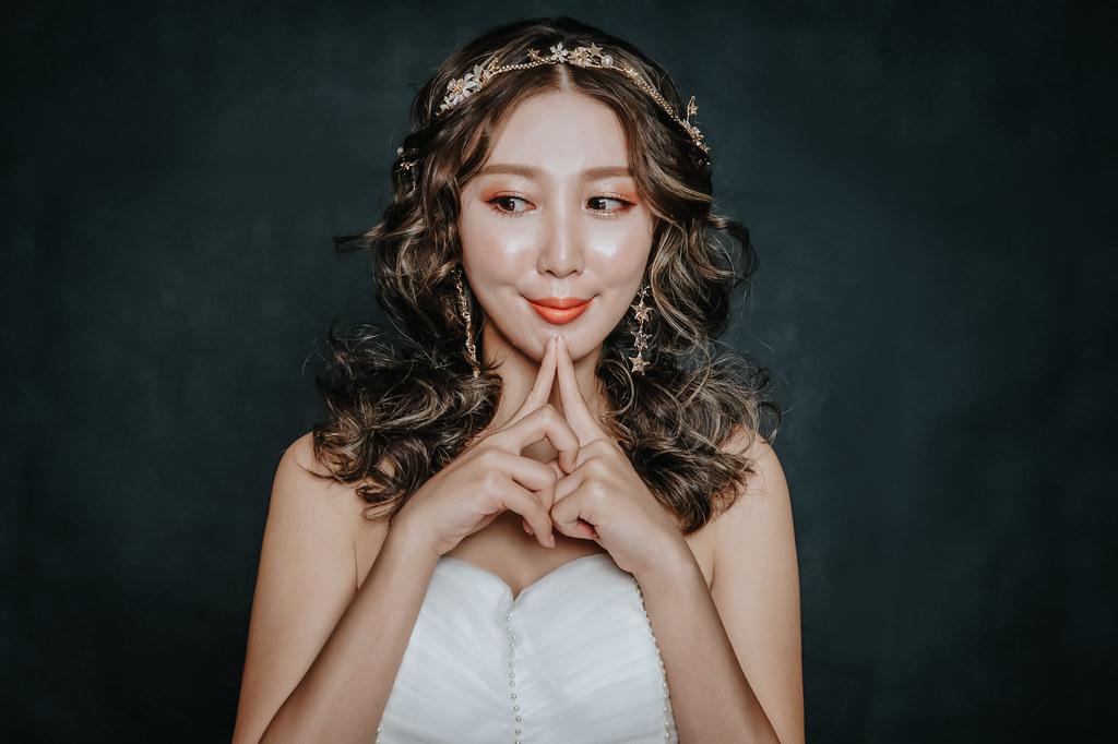 【新秘蓁妮】新娘造型創作 / 甜美俏皮造型