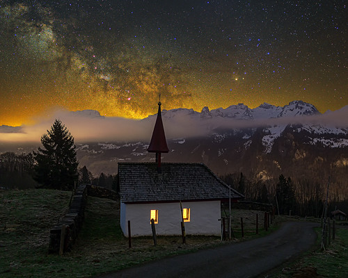 Wartkapelle milky way [explored]