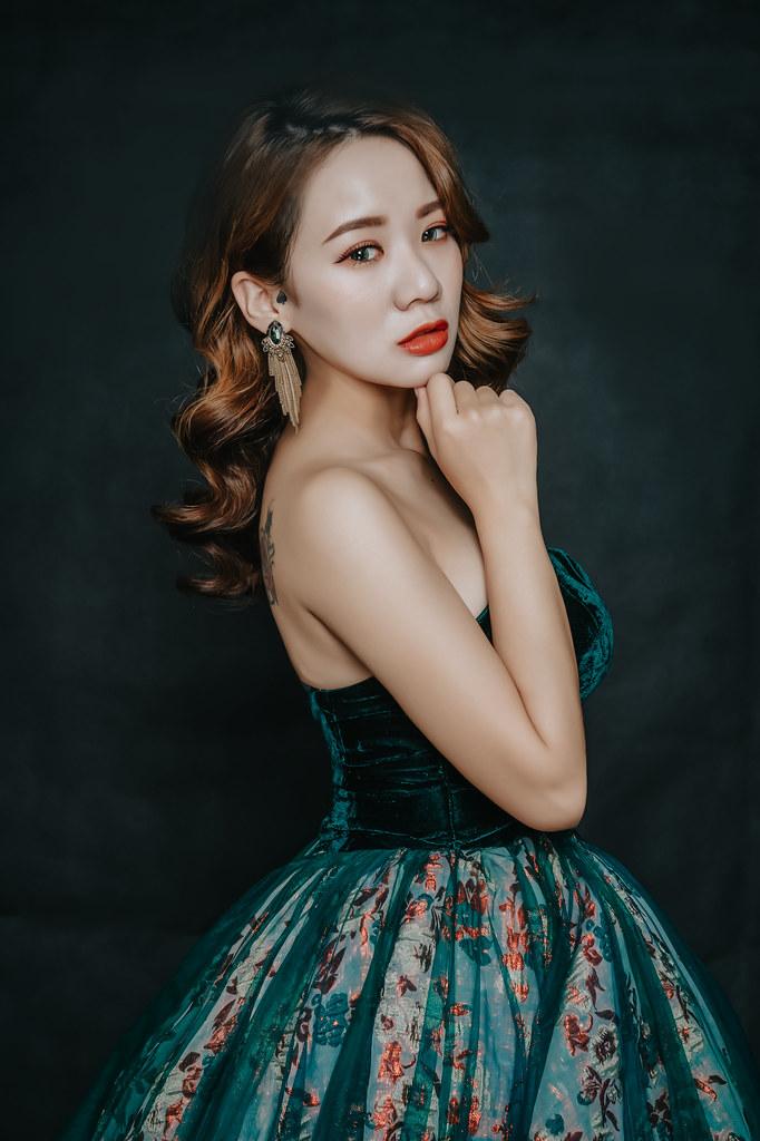 【新秘婕喬】新娘造型創作 / 水波紋造型
