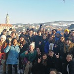 NC State Prague_Excursion_Student group picture_10