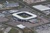Stadium MK - home of the Milton Keynes Dons - aerial image