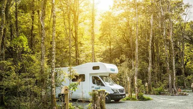 Milford Sound Lodge 露營地