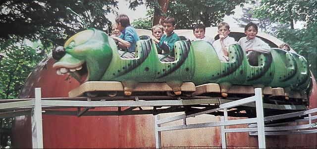 Mini Apple Rollercoaster