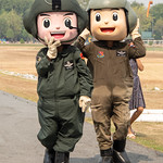 Army pilots, Lop Buri Children's Day