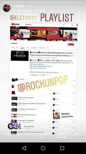 @rockunpop #ritmica #cantautore  #pop #rock  #elettronica #elettritv @pistonemarco #danieleditommaso #buonumore #cuore ❤ #battere #levare @rsindo #playlist #musicaoriginale #sottosuolo #music  #webtv #canalemusicale #underground @claccuzzo_ #webtvmu