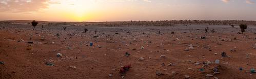 The plastic desert....