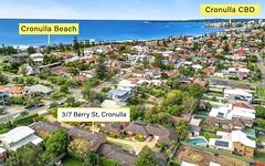3/7-11 Berry Street, Cronulla NSW
