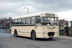 Photo of Midland General Omnibus Co . 277 511JRA . Alfreton Bus Station , Derbyshire . Sunday lunchtime 29th-March-1970