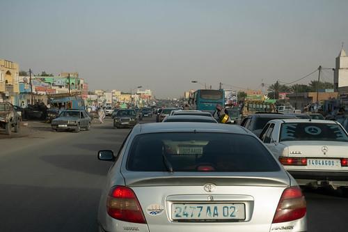 Traffic in Nouakchot