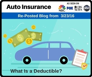 Auto Insurance | What Is a Deductible?