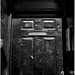 Black door, Milwaukee Avenue, Chicago