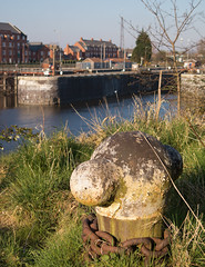 Photo of Latchford locks 01 mar 20