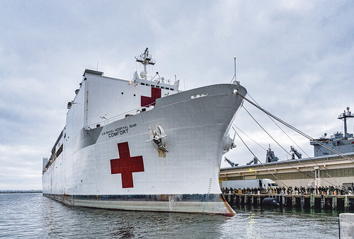 USNS Comfort for NYC, From FlickrPhotos