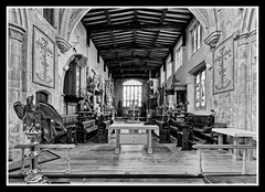 Photo of Chancel BW