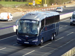 Photo of IRZ 363 -  Irizar i6S Integral - Weavaway Travel - M1 at Milton Keynes 08Mar20