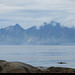 20190619_2 Distant coastal mountains seen from Grunnfør, Norway