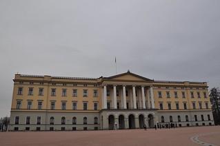 Koninklijk Paleis Oslo.