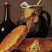 Bodegón de Cocina (0.48 x 0,345)de Luis Meléndez