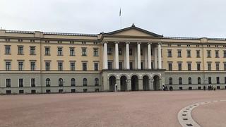 Koninklijk Paleis van Oslo.