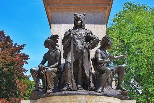 Brantford Ontario - Canada - Victoria Park Square - Joseph Brant Memorial