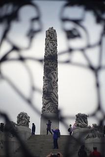 奥斯陸 維格蘭人生雕刻公園the Vigeland Park, Oslo
