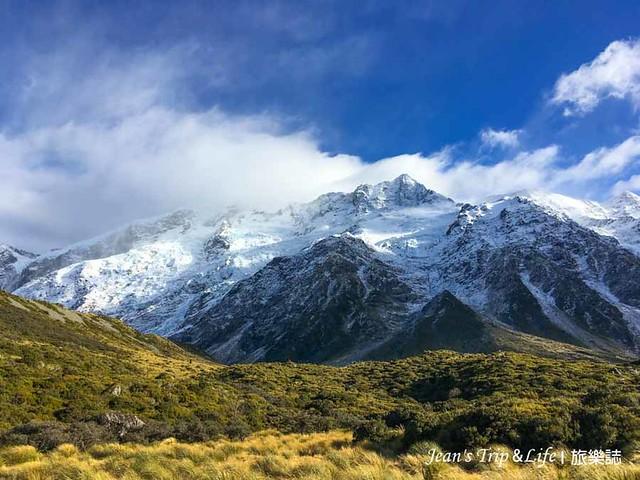 紐西蘭庫克山 Mt Cook 非常美