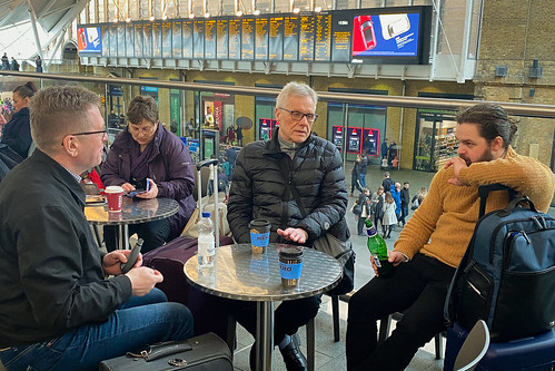 """In the Kings Cross Station, London • <a style=""""font-size:0.8em;"""" href=""""http://www.flickr.com/photos/22350928@N02/49711197023/"""" target=""""_blank"""">View on Flickr</a>"""