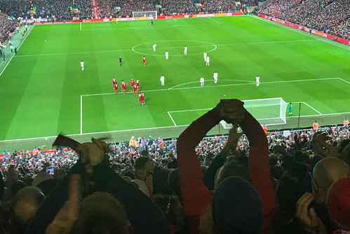 """Anfield Stadium,  Liverpool • <a style=""""font-size:0.8em;"""" href=""""http://www.flickr.com/photos/22350928@N02/49711199358/"""" target=""""_blank"""">View on Flickr</a>"""