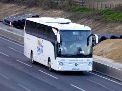 Photo of 119 / BV20 HNC - Mercedes-Benz Tourismo - Alfa Travel - M1 at Milton Keynes 08Mar20