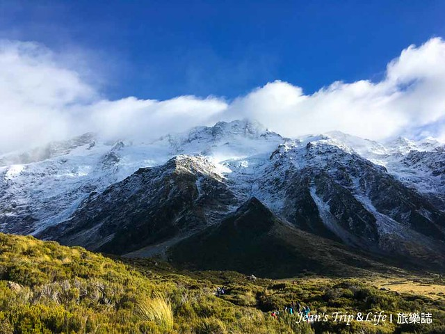 紐西蘭庫克山胡克山谷步道是非常美的風景