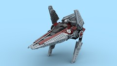 lego star wars_v-wing final digital design