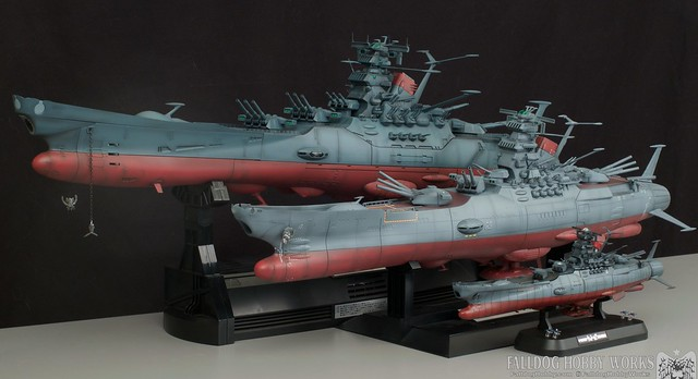Space Battleship Yamato Builds 2 by Judson Weinsheimer