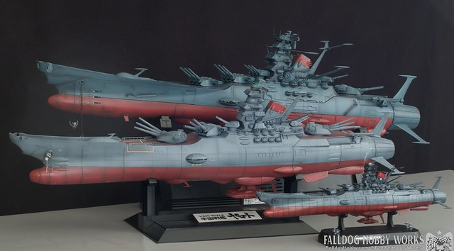 Space Battleship Yamato Builds 4 by Judson Weinsheimer
