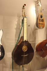 Photo of Guitars, Ukuleles, etc. [Necked Box Lutes played with Hands] 07: English Guitar (at St Cecilia's Hall)