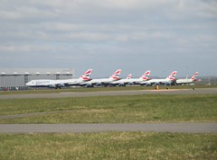 Photo of Parked at Cardiff Airport.