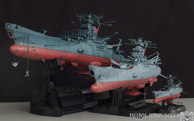 Space Battleship Yamato Builds 1 by Judson Weinsheimer